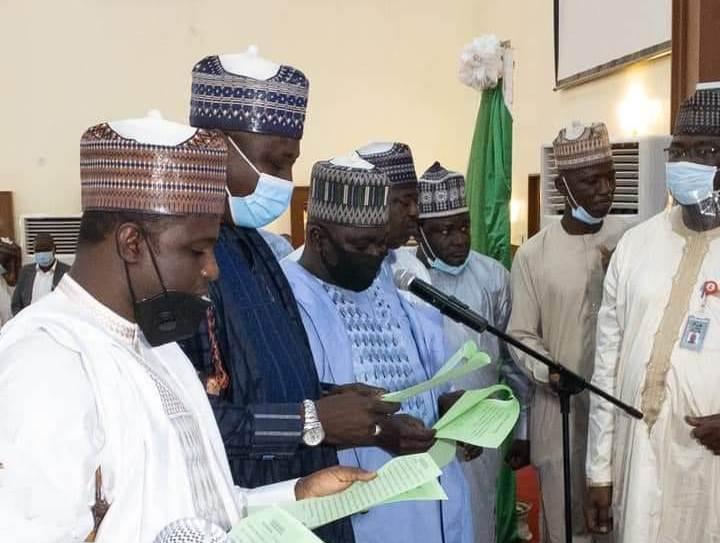 Gov. Mai Mala sworn in 17 council's chairmen