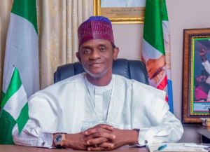 Gov Buni Commiserated With The Families Of Buhari Village Who Lost Their Live On Air Strike